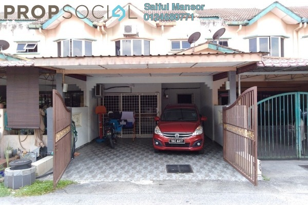 For Sale Terrace at Taman Sri Haneco, Semenyih Freehold Unfurnished 4R/3B 310k