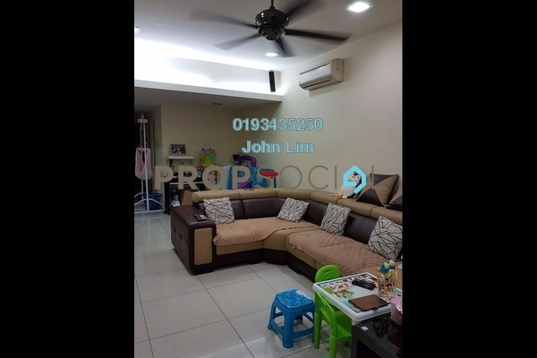 For Sale Terrace at Kepong Baru, Kepong Freehold Semi Furnished 3R/2B 748k