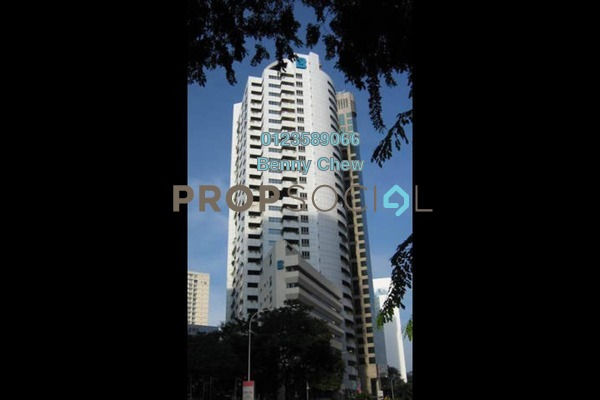 For Rent Office at Menara Boustead, Bukit Ceylon Freehold Semi Furnished 0R/0B 9k