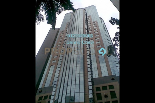 For Rent Office at Menara Dion, KLCC Freehold Semi Furnished 0R/0B 17k