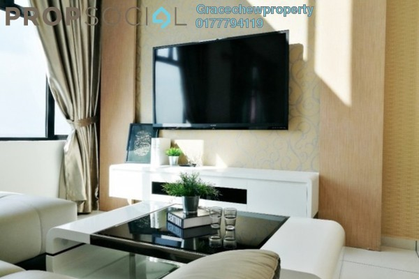 For Rent Serviced Residence at The Sky Executive Suites, Bukit Indah Freehold Fully Furnished 4R/5B 7k