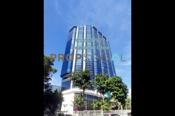 For Rent Office at Menara Boustead, Georgetown Freehold Fully Furnished 0R/0B 3.3k
