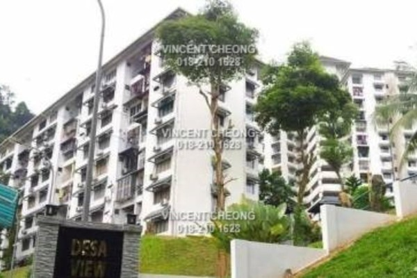 For Sale Apartment at Desa View Towers, Melawati Freehold Semi Furnished 3R/0B 243k