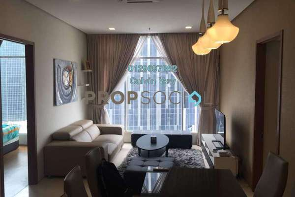 For Rent Condominium at Soho Suites, KLCC Freehold Fully Furnished 3R/2B 4k