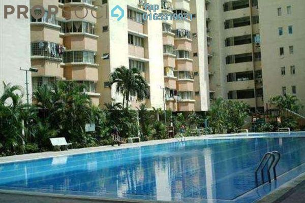 For Rent Condominium at De Tropicana, Kuchai Lama Freehold Semi Furnished 3R/2B 1.2k