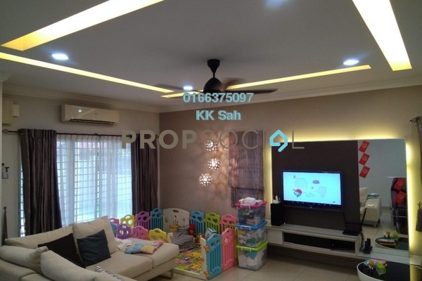 For Sale Superlink at Taman Sri Putra, Sungai Buloh Freehold Fully Furnished 4R/3B 860k