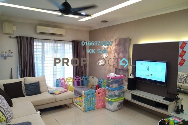 For Sale Superlink at Taman Sri Putra Mas, Sungai Buloh Freehold Fully Furnished 5R/3B 859k