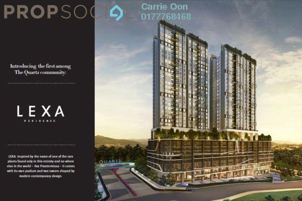 For Sale Condominium at Lexa Residence @ The Quartz, Wangsa Maju Freehold Semi Furnished 3R/2B 477k