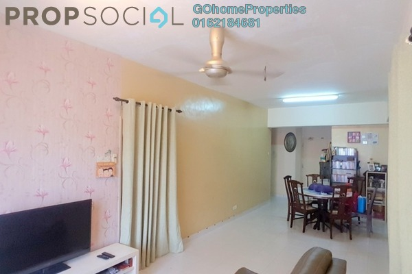 For Sale Condominium at Langat Jaya, Batu 9 Cheras Freehold Semi Furnished 3R/2B 300k