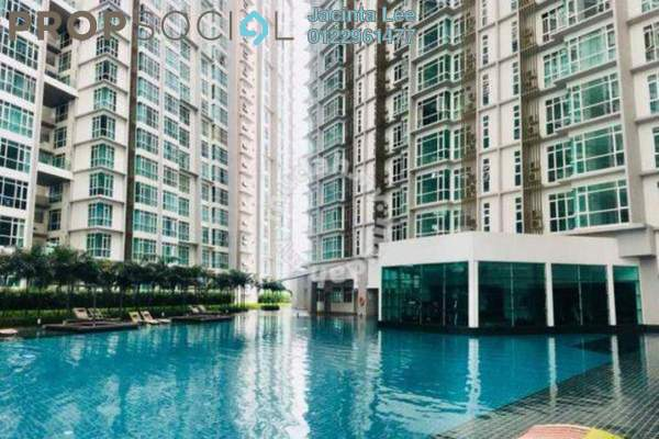 For Sale Serviced Residence at The Court, Sungai Besi Freehold Semi Furnished 3R/2B 446k