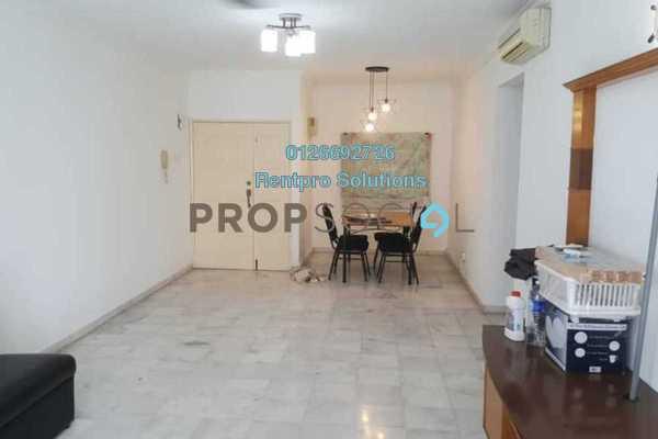 For Rent Condominium at Endah Regal, Sri Petaling Freehold Semi Furnished 3R/2B 1.65k