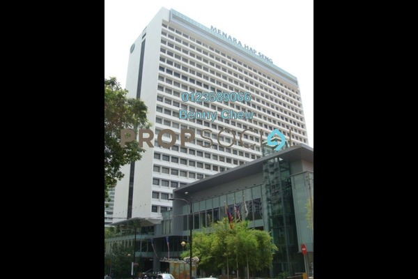For Rent Office at Menara Hap Seng, KLCC Freehold Semi Furnished 0R/0B 9.75k