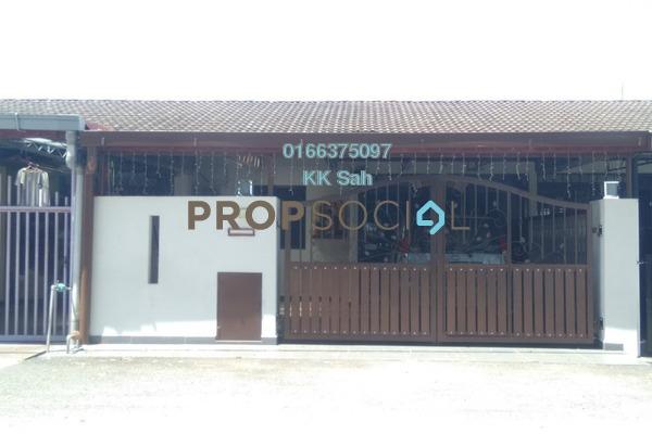 For Sale Terrace at Taman Klang Indah, Klang Freehold Semi Furnished 4R/2B 329k