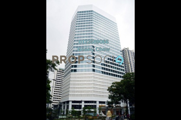 For Rent Office at Menara Hap Seng 2, KLCC Freehold Semi Furnished 0R/0B 52.5k