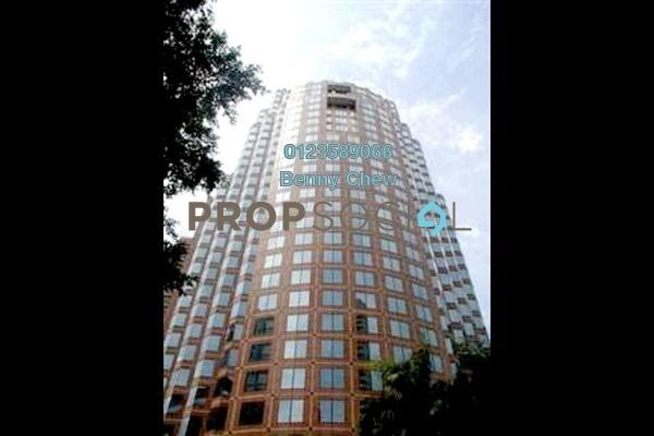 For Rent Office at Menara HLA, KLCC Freehold Semi Furnished 0R/0B 12.4k