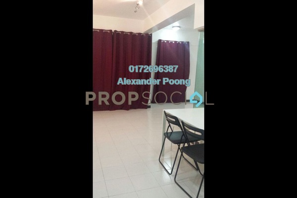 For Sale SoHo/Studio at Ritze Perdana 1, Damansara Perdana Freehold Semi Furnished 1R/1B 300k