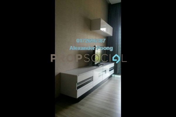 For Rent Condominium at Ritze Perdana 1, Damansara Perdana Freehold Fully Furnished 1R/1B 1.7k