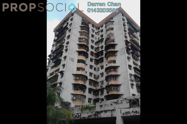 For Rent Apartment at Bayu @ Pandan Jaya, Pandan Indah Freehold Semi Furnished 3R/1B 1.2k