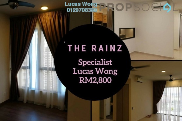 For Rent Condominium at The Rainz, Bukit Jalil Freehold Semi Furnished 4R/3B 2.8k