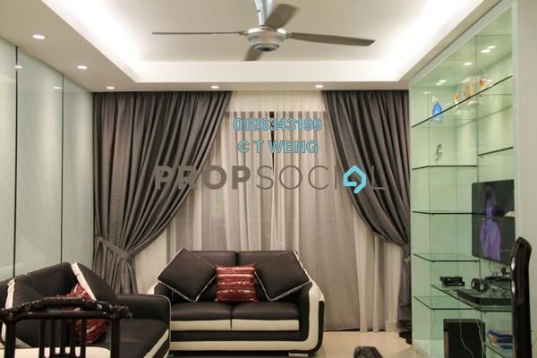 For Rent Condominium at Sri Putramas I, Dutamas Freehold Fully Furnished 3R/2B 2.5k