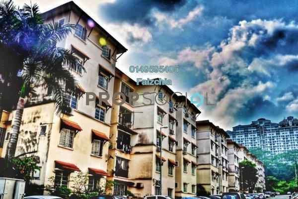 For Rent Condominium at Indah Condominium, Damansara Damai Freehold Unfurnished 3R/2B 1.2k