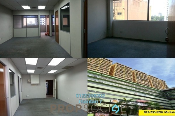 For Sale Office at Sun Complex, Bukit Bintang Freehold Unfurnished 3R/0B 408k