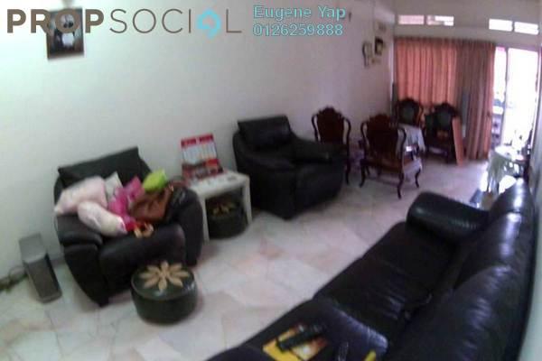For Sale Terrace at Taman Million, Sentul Freehold Semi Furnished 3R/2B 700k