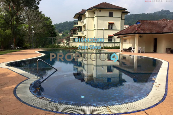 For Rent Apartment at Meru Valley Golf and Country Club, Ipoh Freehold Fully Furnished 3R/3B 2k