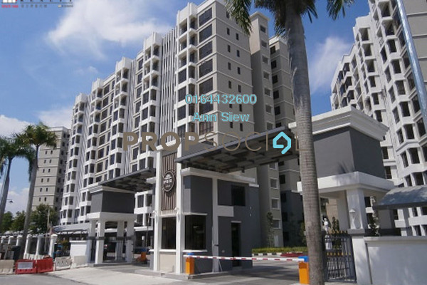 For Rent Condominium at Upper East @ Tiger Lane, Ipoh Freehold Fully Furnished 3R/2B 2.5k