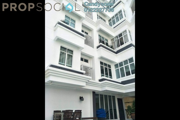 For Rent Condominium at Mutiara Villa, Bukit Ceylon Freehold Semi Furnished 4R/4B 6.5k