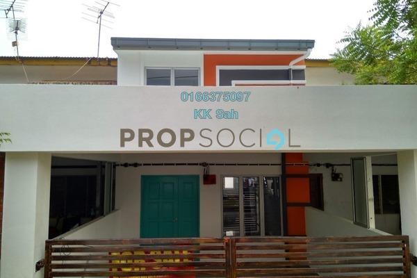 For Sale Link at Taman Bukit Kajang Baru, Kajang Freehold Semi Furnished 3R/2B 365k