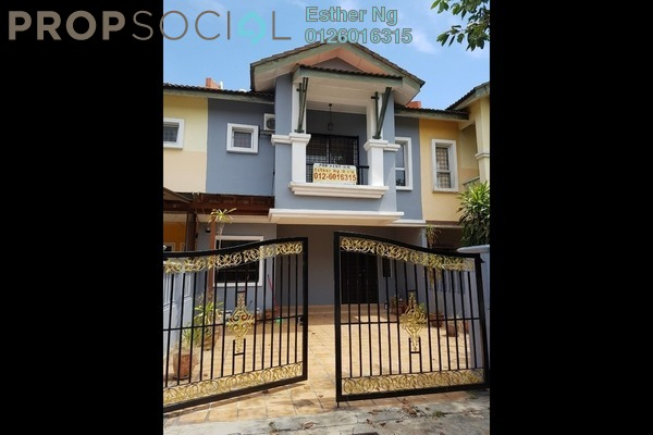 For Rent Terrace at Taman Tasik Prima, Puchong Freehold Unfurnished 4R/3B 1.5k
