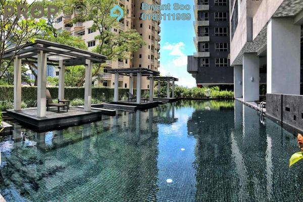 For Rent Serviced Residence at Laman Ceylon, Bukit Ceylon Freehold Fully Furnished 1R/1B 2.6k