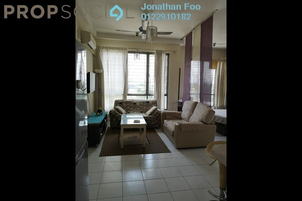 For Rent Serviced Residence at Casa Tiara, Subang Jaya Freehold Fully Furnished 1R/1B 1.3k