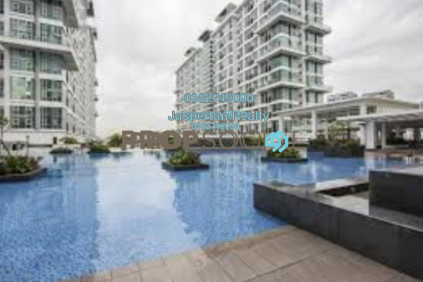 For Rent Condominium at The Scott Garden, Old Klang Road Freehold Semi Furnished 1R/2B 1.4k