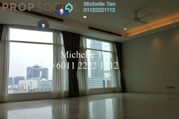 For Rent Serviced Residence at Quadro Residences, KLCC Freehold Semi Furnished 4R/5B 9k
