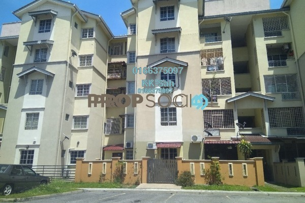 For Rent Apartment at Kasuarina Apartment, Klang Freehold Unfurnished 3R/2B 1.2k
