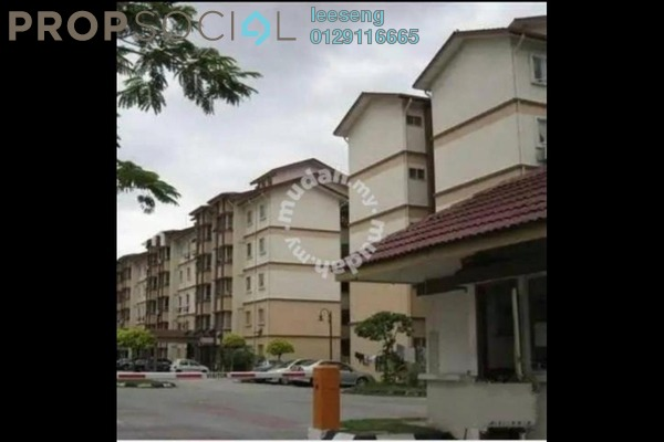 For Sale Apartment at Tropika Apartment, Klang Freehold Semi Furnished 3R/2B 225k