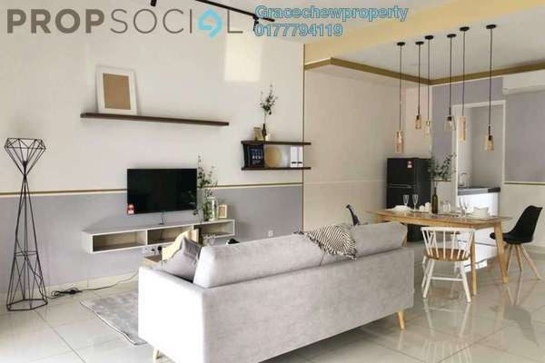 For Rent Terrace at Eco Spring, Tebrau Freehold Fully Furnished 4R/3B 2.58k