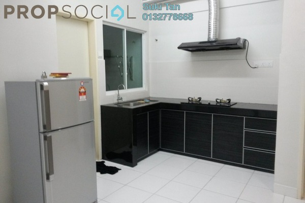 For Rent Condominium at First Residence, Kepong Freehold Semi Furnished 3R/2B 1.75k