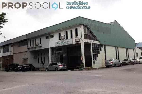 For Rent Factory at Taman Industri Sungai Buloh, Petaling Jaya Freehold Fully Furnished 0R/0B 3.5k