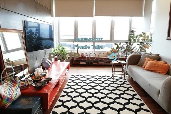 For Sale Condominium at The Tamarind, Sentul Freehold Semi Furnished 3R/2B 620k
