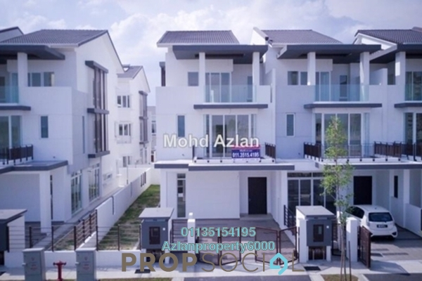 For Sale Terrace at Aquamarine, Taman Putra Prima Freehold Semi Furnished 5R/5B 1.25m