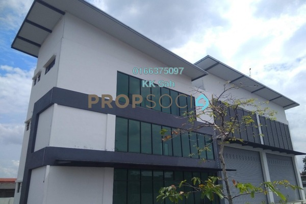 For Sale Factory at Bukit Kemuning Industrial Park, Kota Kemuning Freehold Unfurnished 3R/6B 4.99m
