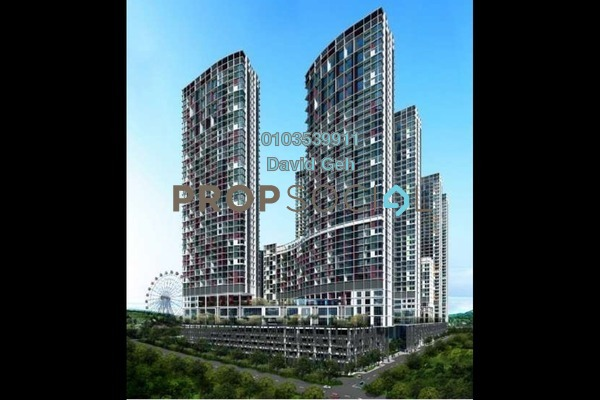 For Sale Serviced Residence at i-City, Shah Alam Freehold Semi Furnished 2R/2B 550k