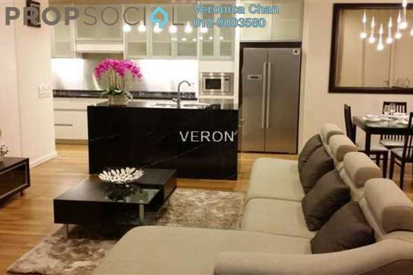 For Rent Serviced Residence at St Mary Residences, KLCC Freehold Fully Furnished 2R/2B 7.5k