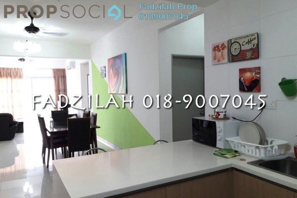 For Rent Condominium at Villa Orkid, Segambut Freehold Fully Furnished 3R/2B 2k