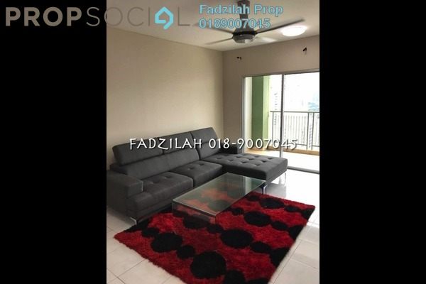 For Rent Condominium at Kiara Designer Suites, Mont Kiara Freehold Fully Furnished 3R/3B 3.3k