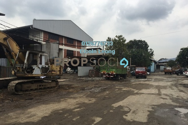 For Sale Factory at Jalan Sungai Besi, Kuala Lumpur Leasehold Unfurnished 4R/4B 4m