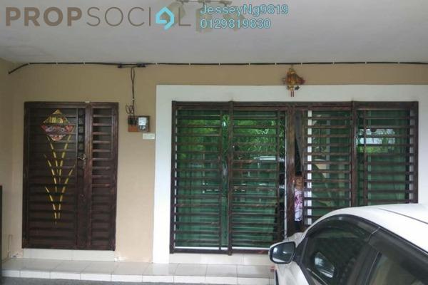 For Sale Terrace at Taman Pengkalan Utama, Ipoh Leasehold Semi Furnished 4R/4B 360k